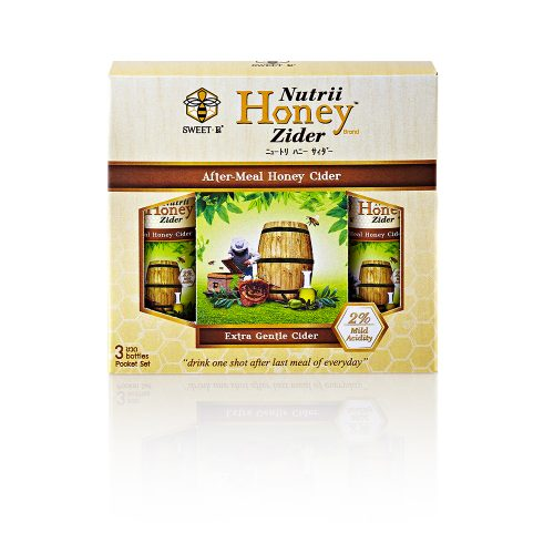 NUTRII HONEY ZIDER 310 ml x 3-022